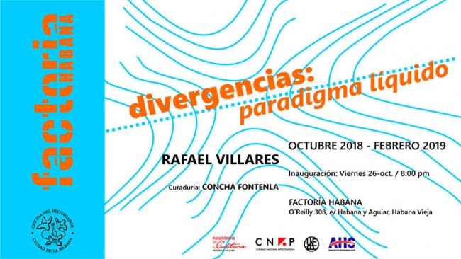 Divergencias: paradigma líquido. Imagen cortesía Factoría Habana