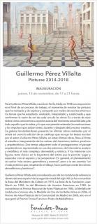 Guillermo Pérez Villalta. Pinturas 2014-2018