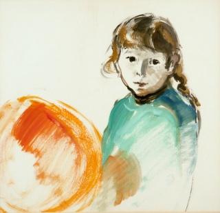 Una de la obras expuestas de Maria Vich — Cortesía de la Fundación Barceló