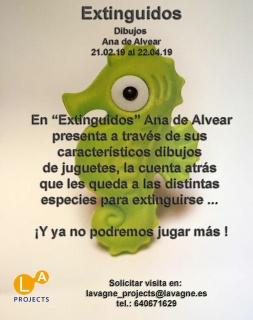 Ana de Alvear. Extinguidos