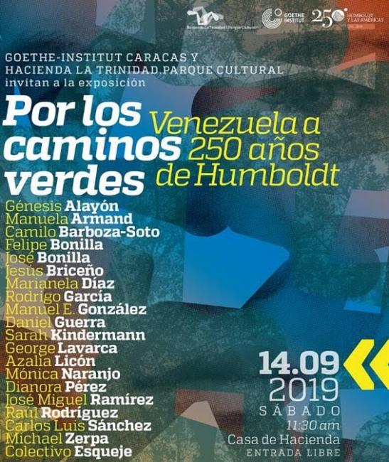 Por los caminos verdes. Venezuela a 250 años de Humboldt