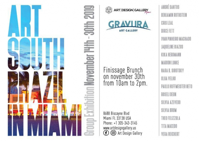 Art South Brazil in Miami
