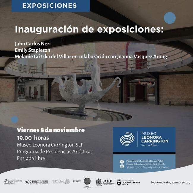 Exposiciones Artistas Residente