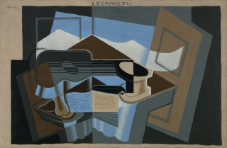 Juan Gris, Le Canigou, 1921, oil on canvas, Collection Albright-Knox Art Gallery, Buffalo, New York, Room of Contemporary Art Fund, 1947 (RCA1947:5). Photo : Albright-Knox Art Gallery / Art Resource, NY