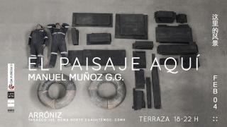 Manuel Muñoz GG. El paisaje aquí