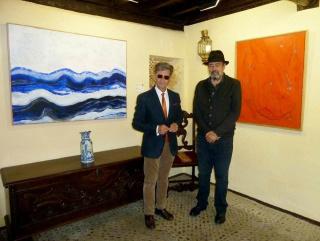Ricardo Pecharromán con Agustín Decórdoba