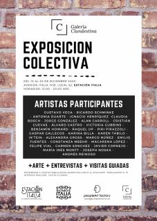 Exposición Estación Italia - Galería Clandestina
