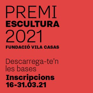 Premi Escultura 2021 Fundació Vila Casas