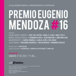 Premio Eugenio Mendoza #16 © Sala Mendoza 2021