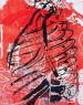 Torso e Jardim, 2013. Xilogravura em cores s/ papel Debret