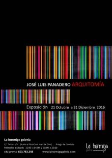 José Luis Panadero, Arquitomía