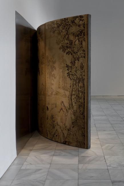 Cristina Iglesias, Sin título, 1993-1997. Vista de instalación Museo Nacional Centro de Arte Reina Sofia, 2013. Foto: Atilio Maranzano — Cortesía del Centro Botín