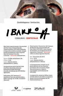 Agustín Ibarrola. Censuras - Zentsurak