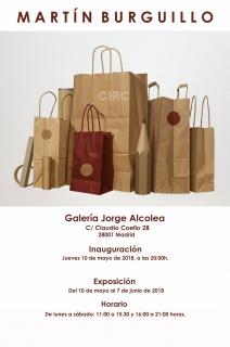 Exposición de Martín Burguillo en la galería Jorge Alcolea