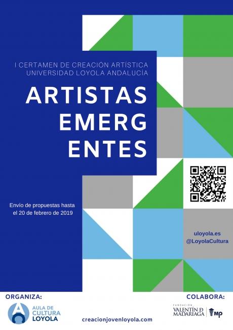Certamen de Creación Artística Universidad Loyola Andalucía: Artistas Emergentes