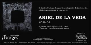 Invitación Ariel de la Vega