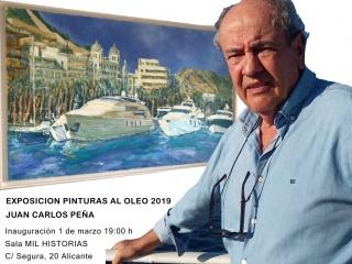 Exposición de pinturas al óleo