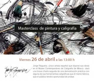 Jorge Regueira: Masterclass de pintura y caligrafía