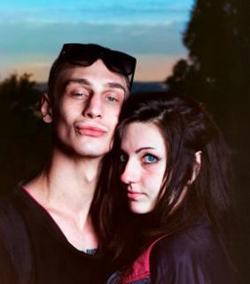 La pareja más bella. Dopo Roma © JESÚS MADRIÑAN — Cortesía del Festival PHotoEspaña
