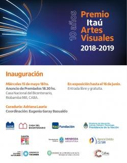 10° Premio Itaú de Artes Visuales 2018/2019