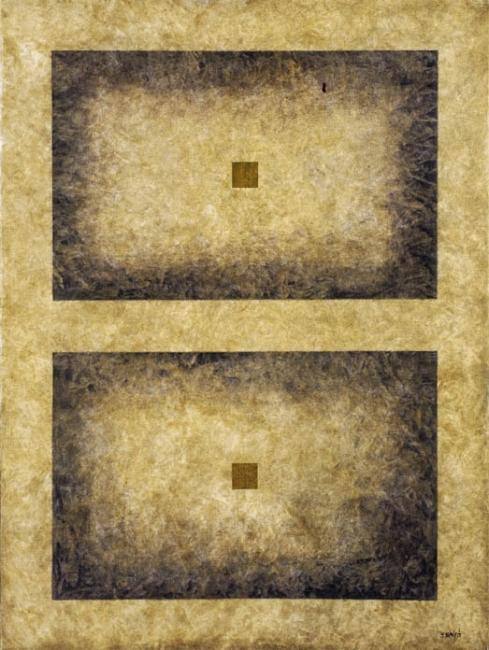 Francisco Mantecón, Sin título. 1993. 130x97, acrilico sobre tela — Cortesía de la Galería José Lorenzo