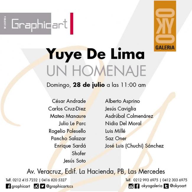 Yuye De Lima. Un homenaje
