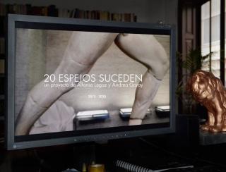 20 ESPEJOS SUCEDEN. Un proyecto de arte de Alfonso Legaz y Andrea Garay con la participación de Jean-Luc Nancy