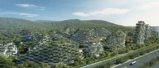 Liuzhou Forest City, Stefano Boeri Architetti, Milán/Shanghái. Cortesía del CGAC