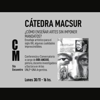 Cátedra MACSur: Quinto Encuentro