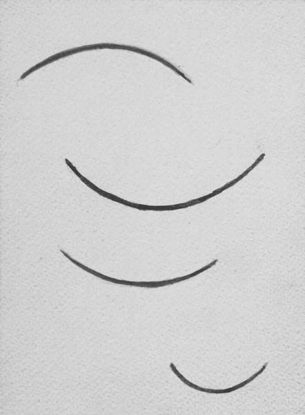 Georges Vantongerloo, function-curves brown-greenish, 1938