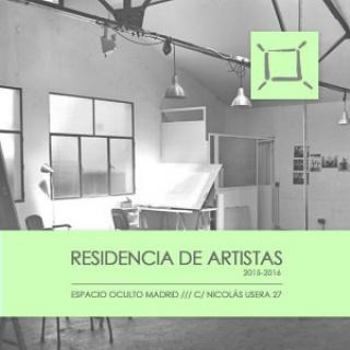 Residencia de artistas 2015-2016