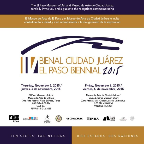 IV Bienal Ciudad Juárez / El Paso 2015