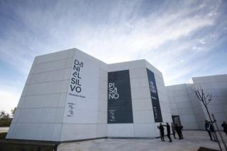 Fachada del Centro de Creación Contemporánea de Andalucía (C3A), en Córdoba.