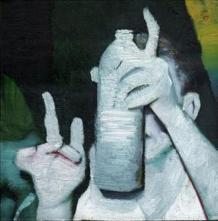 Aarón Duval, Tomatina – Cortesía de Plastic Murs
