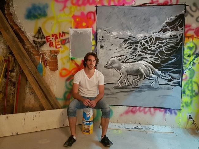 Francisco Diego, Artista visual.