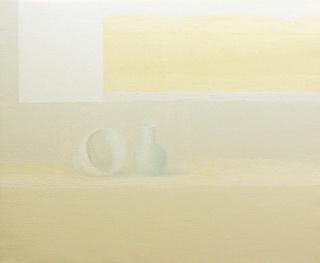 Juan Carlos Lázaro, Pintura 54, 2018. Óleo sobre lienzo, 38 x 46 cm. — Cortesía del artista
