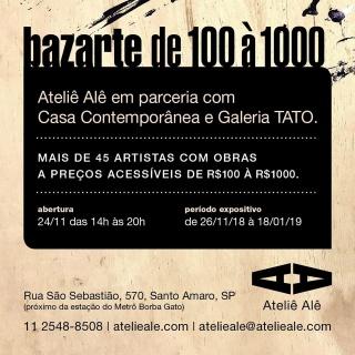 Bazarte de 100 à 1000