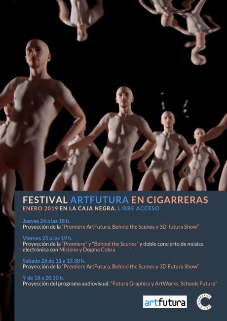 Festival Artfutura en Las Cigarreras