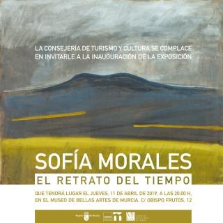 Sofía Morales. El retrato del tiempo – Invitación