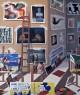 Joaquín Lalanne, Estudiando a los maestros, 120x100 cm., óleo sobre lino — Cortesía del artista