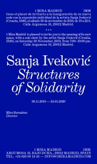 Sanja Ivekovic. Structures of Solidarity - Invitación