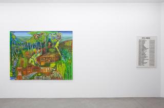 Vista de la exposición. Fotografía de Nacho Iasparra — Cortesía de Hache galería de arte