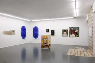 Vista de la exposición «Sentimientos encontrados» — Cortesía de Quimera Galería