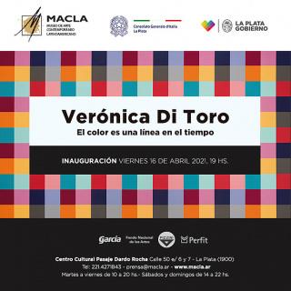 Verónica Di Toro. El color es una línea en el tiempo