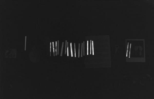 María Martínez-Cañas, Black Series: Untitled #15, 19980–81 Cortesía de Julie Saul Gallery