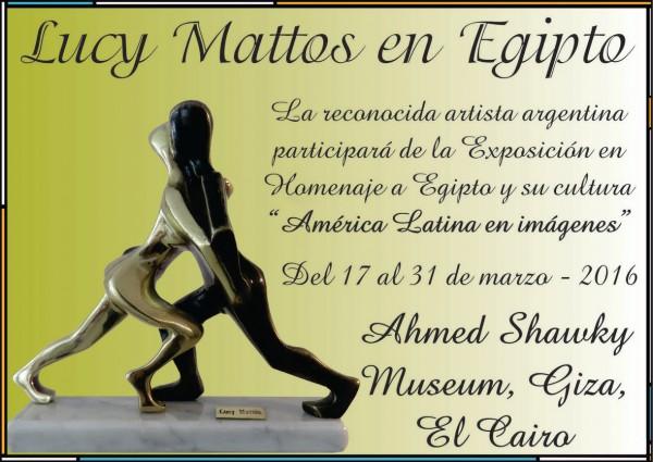 Lucy Mattos en Egipto