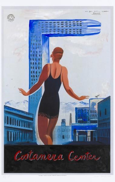 Sin título, figura 197 (2016), acrílico sobre papel fotogra?fico, 99 x 62cm, Cortesía kalli Rolfe Contemporary Art, Melbourne.