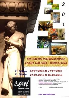 XIX Salón Internacional 2018 Esart Galería Barcelona