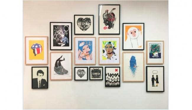 Gunter Gallery 'Pop Up' de Navidad – Cortesía de Gunter Gallery
