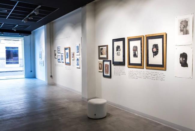 Vista de la exposición — Cortesía de la galería Pepita Lumier